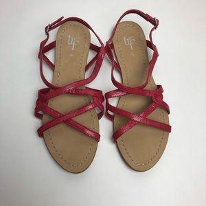 Zara Pink Sandals Size 5.5